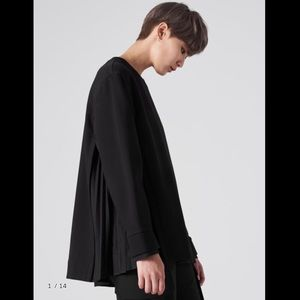 [JUNN.J] Contrast Pleats T-Shirt 20 F/W